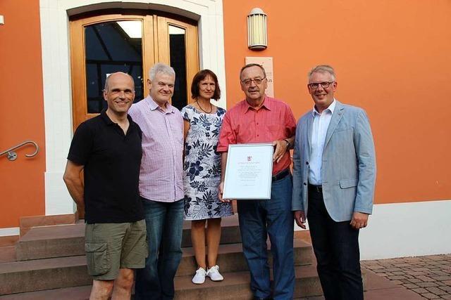 Heinz Nikola verlässt den Gemeinderat nach 35 Jahren