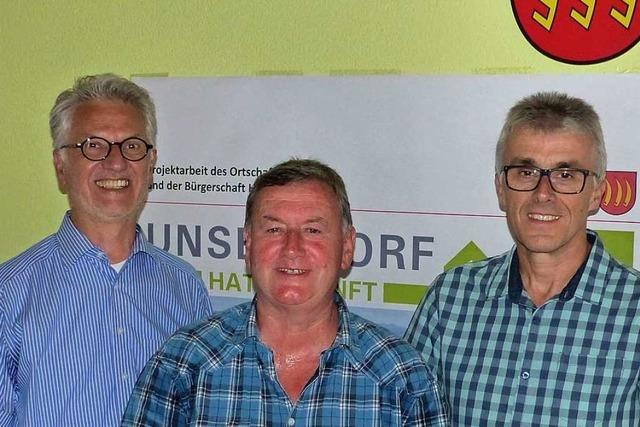 In Holzhausen wurden drei Ratsmitglieder verabschiedet