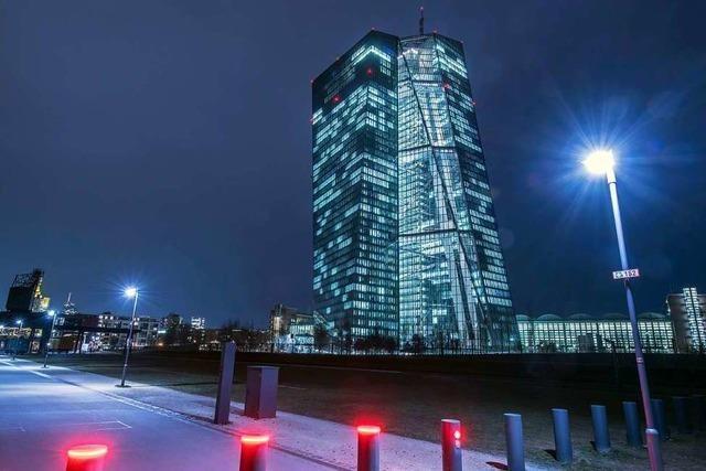 Die EZB darf die Großbanken kontrollieren