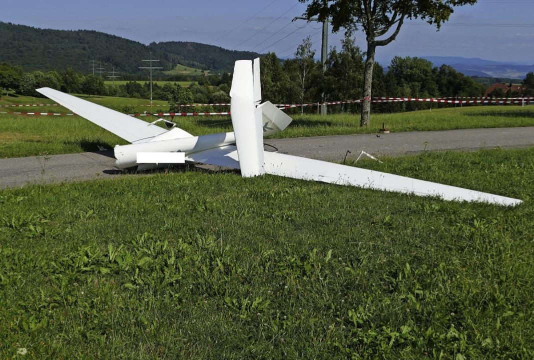 Pilot Stirbt Bei Flugzeugabsturz Rickenbach Badische Zeitung