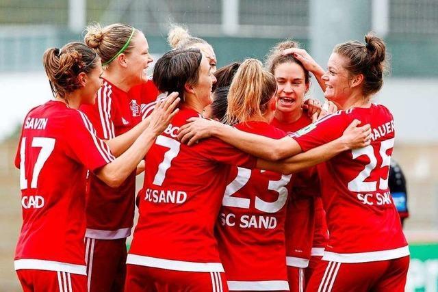 Anne van Bonn, Kapitänin des SC Sand: