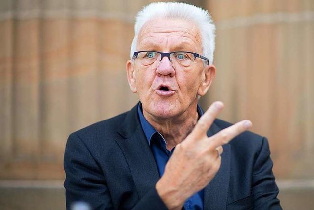 Kretschmann wirft AfD Verrohung vor