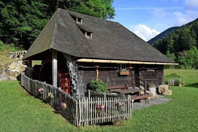 Historische Mühle auf dem Gassenbauernhof im Oberrieder Ortsteil Zastler öffnet für Interessierte.