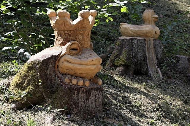 Skulpturen im Regelsbach