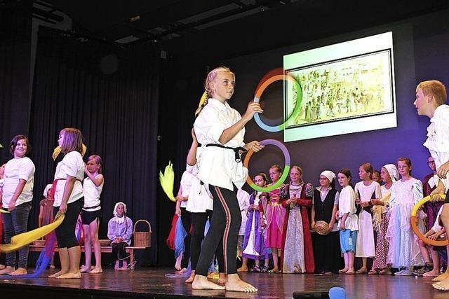 Ein eigenes Theaterstück zum Stadtjubiläum