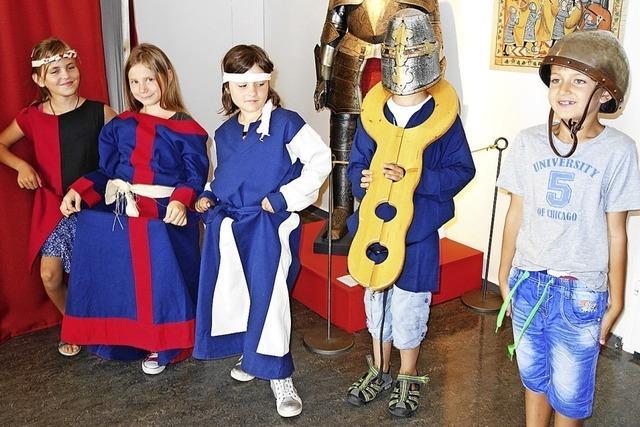Kinder auf Zeitreise ins Mittelalter