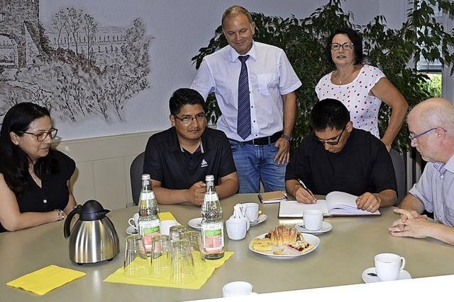 Einsatz für Partnergemeinde in Peru