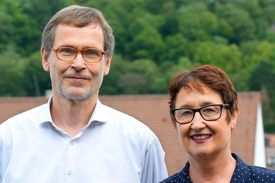 Die Fabel-Geschäftsführer Andrea Lászlófy und Bertold Löffler    Foto: Ingo Schneider