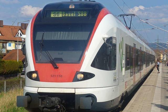 Die SBB fährt bis 2027 auf der Wiesentalbahn