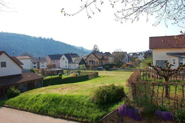 Weniger Platz für neue Häuser in Kuhbach