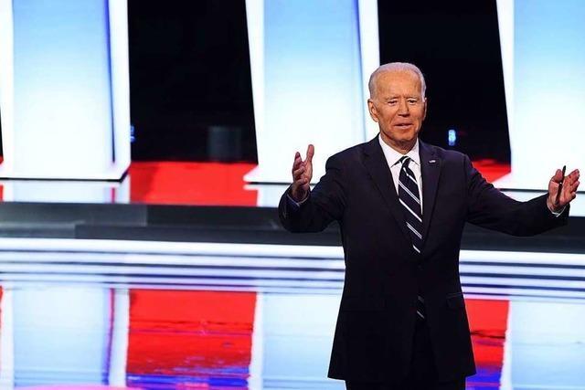Biden gerät bei TV-Debatte der US-Demokraten unter Druck