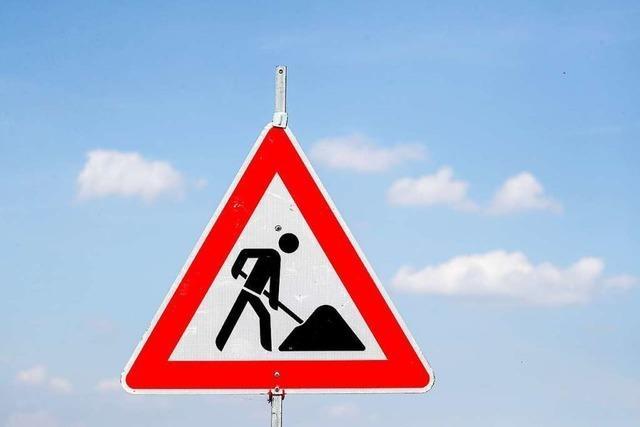 Straßensperrung wegen Bruchs einer Gasleitung