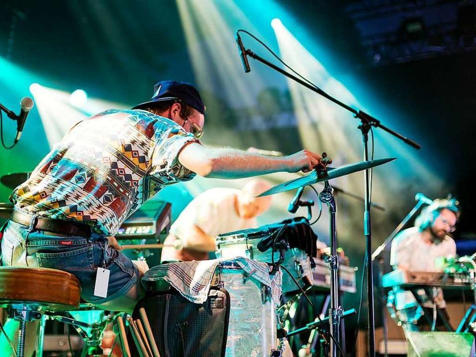 Abgefahrener Support: die Mannheimer Band Sea Moya  | Foto: Carlotta Huber