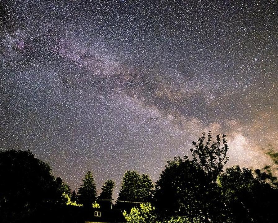 Blick zur Milchstraße  | Foto: Birgit-Cathrin Duval