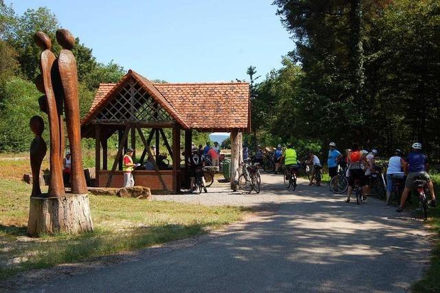 Mit dem Rad von Hütte zu Hütte in der Riedwoche