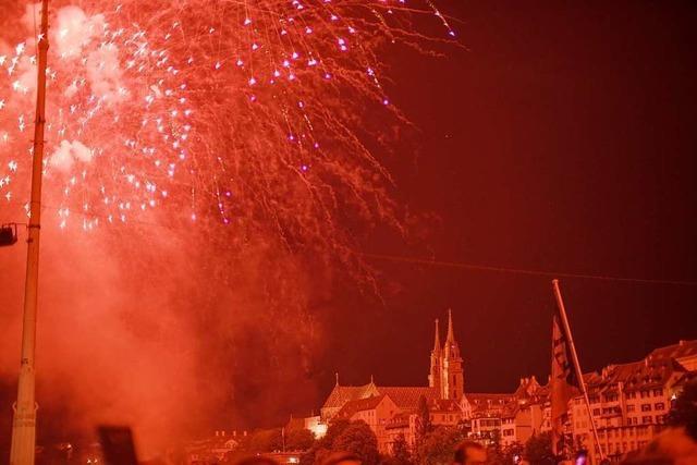 110.000 Menschen feierten in Basel in den Schweizer Nationalfeiertag