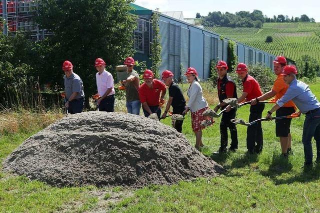 Der Hela-Baumarkt in Müllheim wird jetzt erweitert