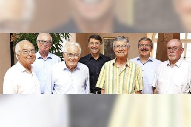 Väter des Seniorenbeirats gehen in Ruhestand