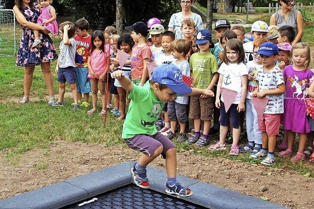 Bewegungsförderung und Spaßfaktor