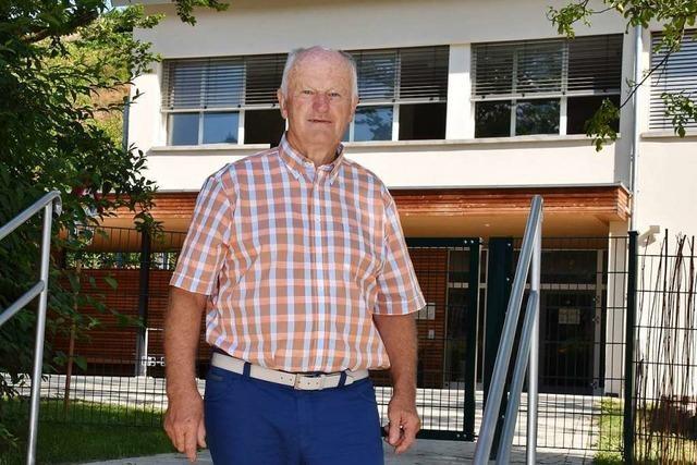 Friedrich Schill war fast 40 Jahre Ortsvorsteher von Oberbergen