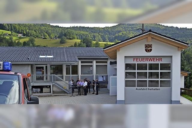 Feuerwehrgarage in Riedichen ist jetzt fertig