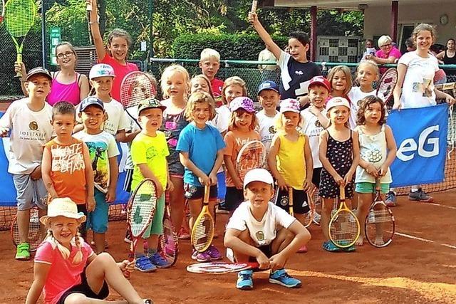 Tennisnachwuchs startet in Schönau durch