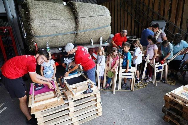 Rund 100 Kinder bei DJK-Ferienwoche in Oberschopfheim
