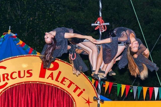 Circus Paletti feiert den Tourneeabschluss in Ettenheim