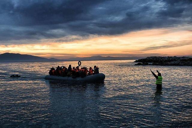 Griechisches Luftschiff soll Menschenschmuggler stoppen helfen