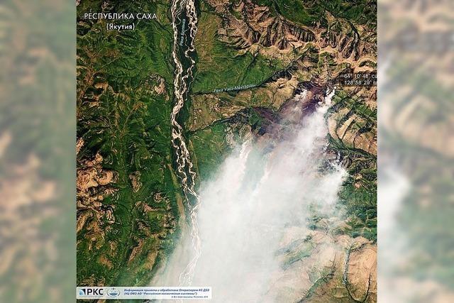 Militär kämpft gegen Waldbrände