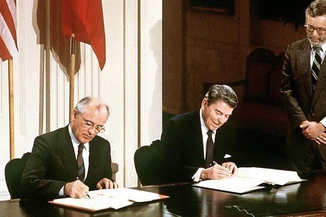 Die Ära der Abrüstung endet