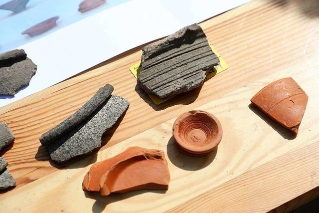 Archäologen untersuchen intaktes römisches Steinhaus in Lahr