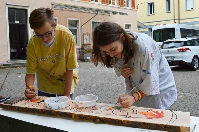 Beim Internationalen Jugendcamp in Rheinfelden werden aus Fremden Freunde