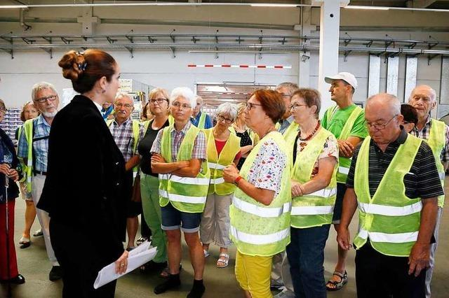 In der größten Kühltruhe der Region: ein Besuch im Logistiklager von Aldi Süd