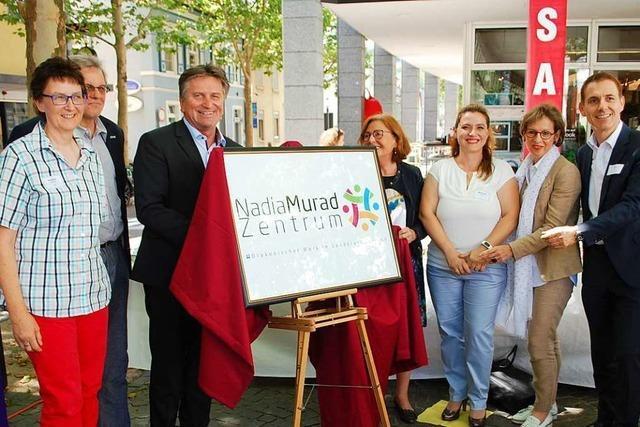 Das Psychosoziale Zentrum in Lörrach heißt jetzt Nadia Murat Zentrum