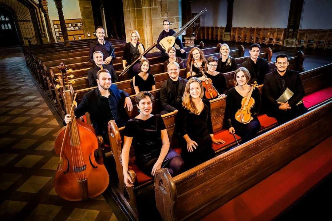 Das Leipziger Ensemble 1684 gastiert a...he in der Stadtpfarrkirche St. Martin.  | Foto: Kulturreferat  Staufen