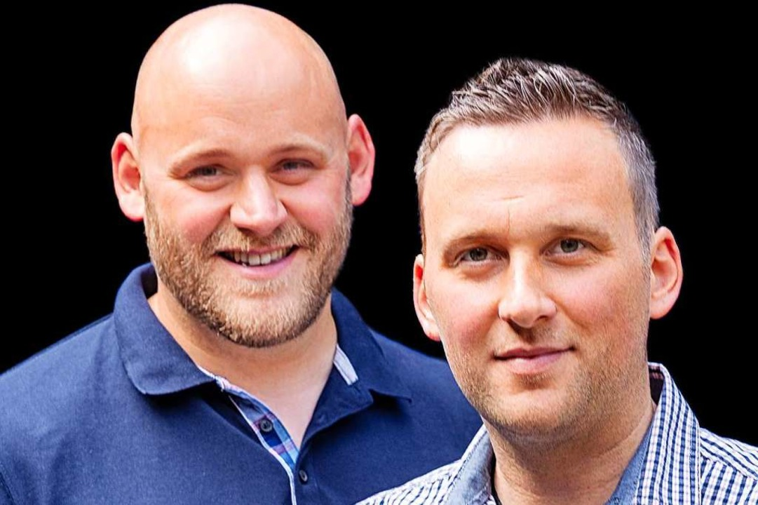 Philipp und Florian Isele (re.), die Söhne des Chefs  | Foto: Michael Wissing