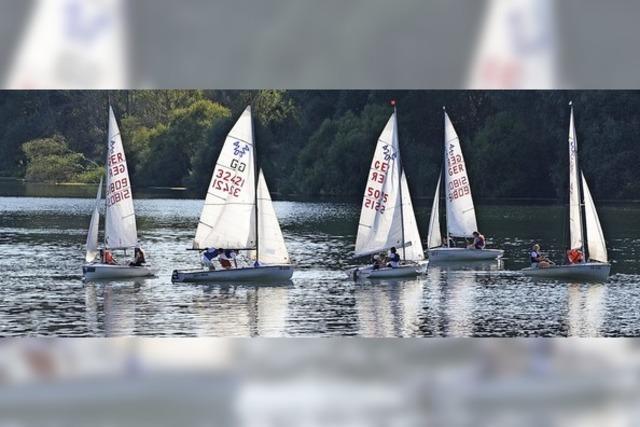 Sonne, Wind und Spaß auf dem Wasser