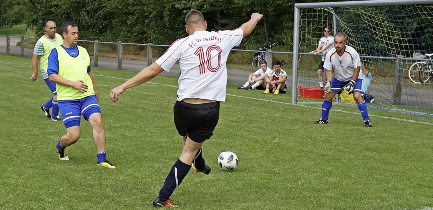 Interessante Spiele sahen die Zuschaue... die Dorfmeisterschaft in Oberhausen.   | Foto: Jürgen Schweizer