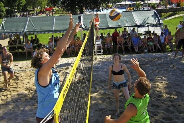 Beachvolleyballer zum 25. Mal in Ettenheim