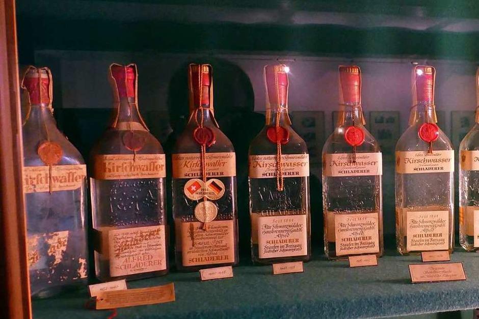 Alfred Schladerer ließ sich die Flaschenform 1932 patentieren, die im Laufe der Jahre sorgsam weiterentwickelt wurde. (Foto: Frank Schoch)