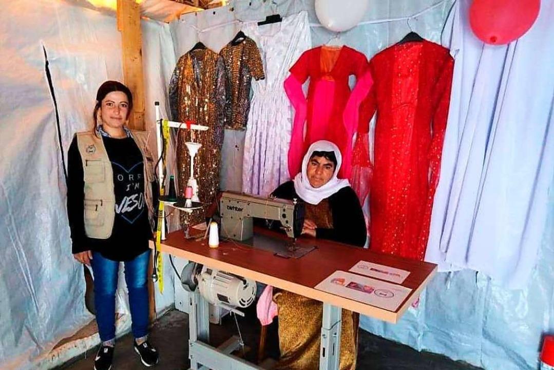Kenzinger Verein Zarok leistet Hilfe z...röffnung eines Nähladens. (Archivbild)  | Foto: Zarok