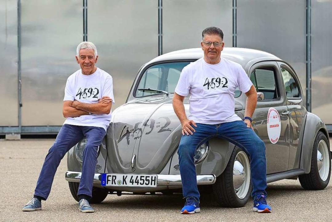 Der Schweizer Ex-Rennfahrer Fredy Amwe...ie an den ewigen Bergrekord Ketterers.  | Foto: Ingo Schneider
