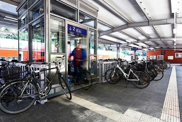 Die neuen Aufzüge am Wiehrebahnhof sind in Betrieb