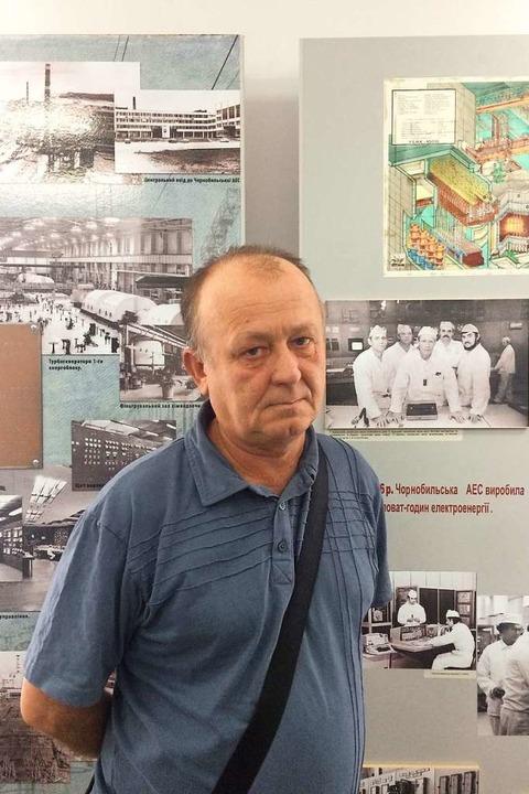 Viktor Iwkin war Techniker im Akw, als sich 1986 die Katastrophe ereignete.    Foto: Scholl