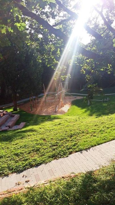 Spot an für den neuen Pulverturm-Spielplatz (Einweihung am Montag).  | Foto: Thomas Jäger
