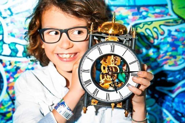 Von Uhr bis Urknall – in Mannheim können Kinder die Zeit erforschen