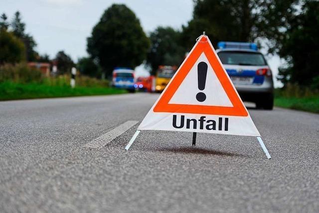 Motorradfahrer leicht verletzt nach Zusammenstoß mit Auto in Grenzach-Wyhlen