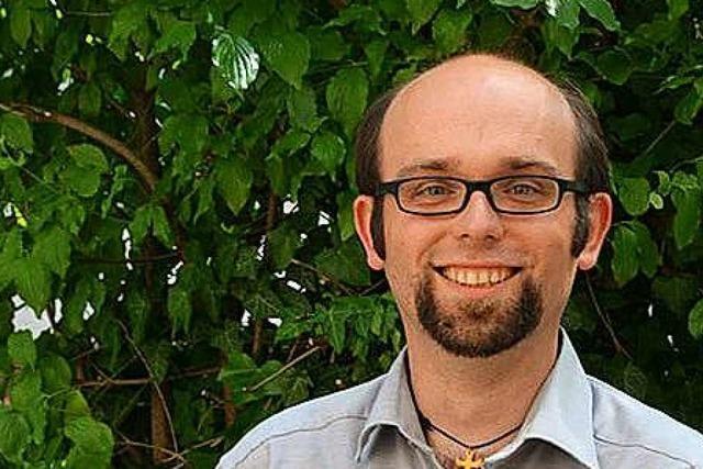 Pastoralreferent Benjamin Vogel: