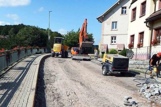Sanierung der L 152 bislang im Plan